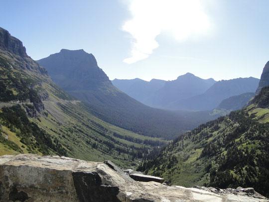 Sicht vom Logan Pass (Glacier N.P.)
