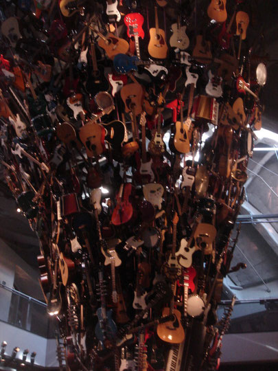 Gitarrenbaum im EMP (Seattle)