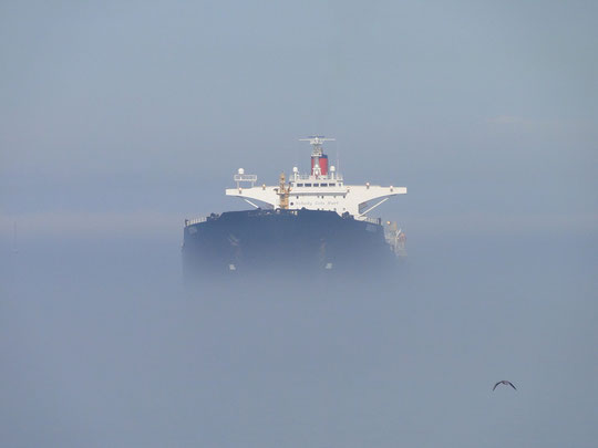Ship in the mist