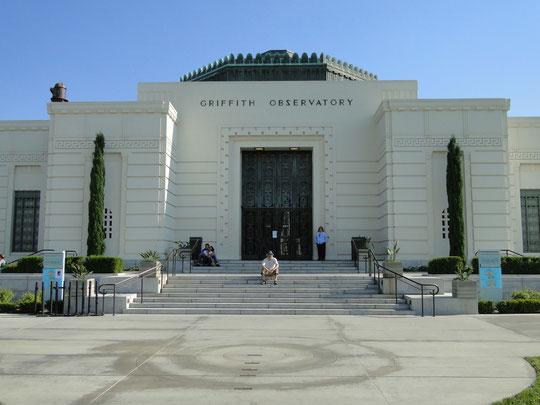 denn sie wissen nicht, was sie tun (Griffith Observatory, bekannt aus dem Film mit James Dean)