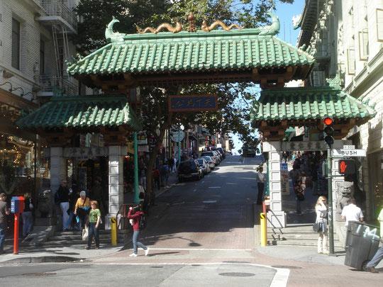 Eingang zu Chinatown (San Francisco)
