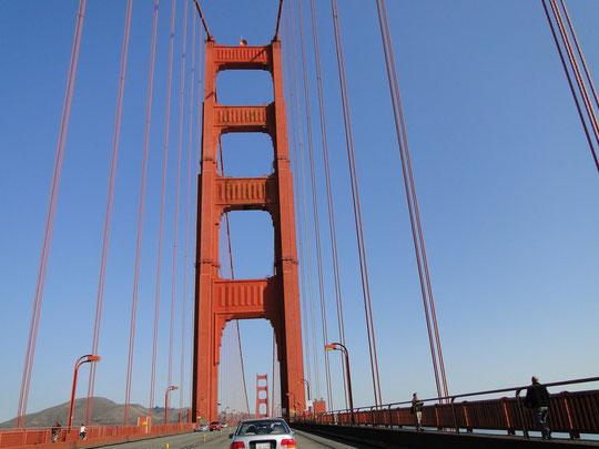 Golden Gate Bridge - schon wieder, aber diesmal bei schönem Wetter