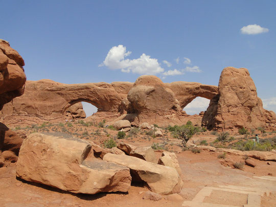 North and South Window Arch (Arches N.P.)