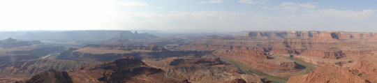 Panorama Meander Canyon Colorado (Dead Horse Point State Park)