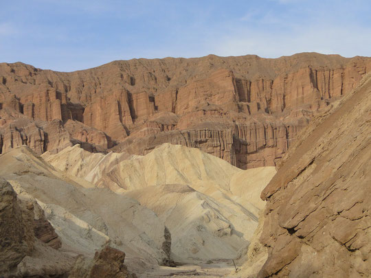 Golden Canyon ... the Cathedrale (Death ValleyI