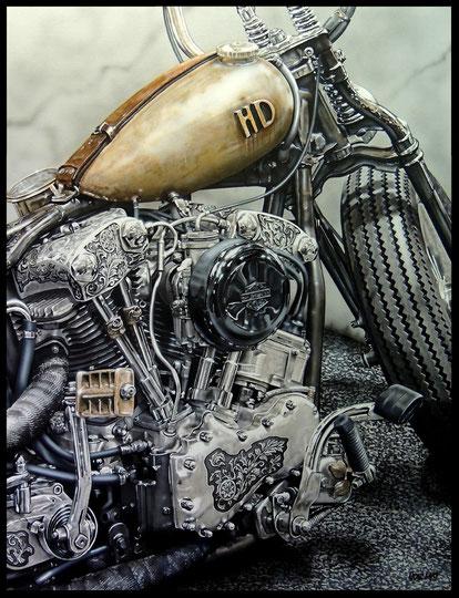 """ RUSTY HD ""   acrylique sur toile de lin    89 x 116 cm"