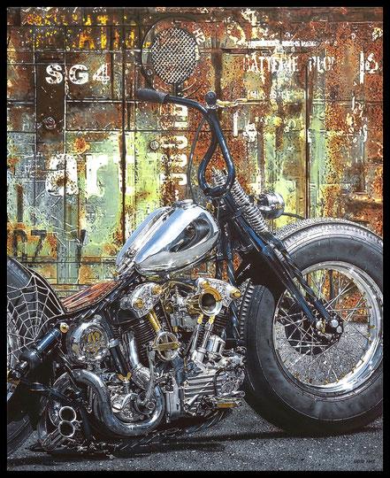 """"""" SG4 ART """" Acrylic Painting on Canvas  81 x 100 cm"""