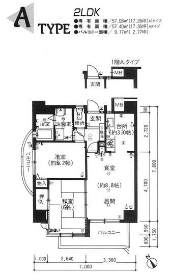 101・201・301・401・501・601・701号室