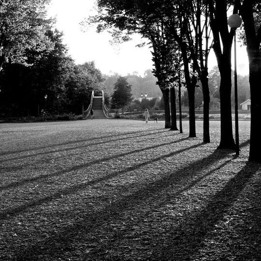 Jard lumiere d'automne
