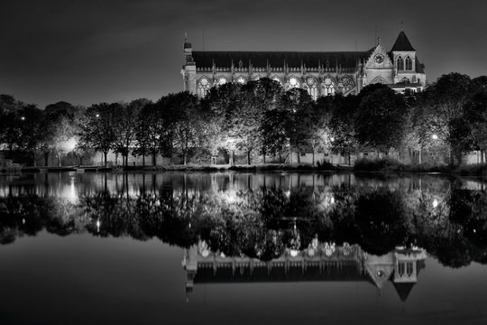 Cathédrale en reflets