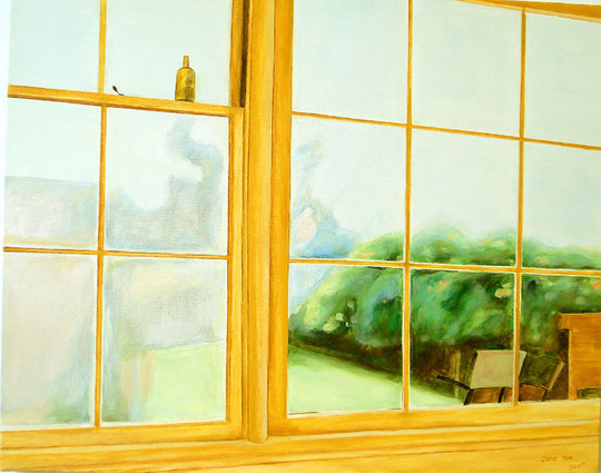"Afternoon Window 24"" 30"" / 午后 61x 76cm, 2007"