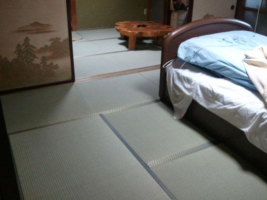 新畳交換・い草上級・縁付き畳