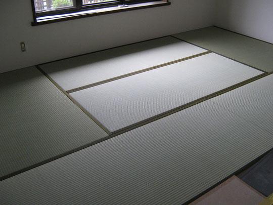 新畳(薄畳)・い草薄畳用・縁付き畳