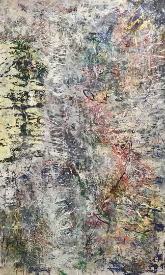 Untitled200x120cm Acrylic on canvas 2017