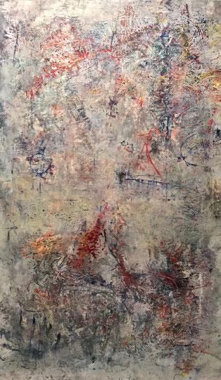 Palunko 200x120cm Acrylic on canvas 2017
