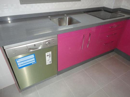 Cocina Jaen rosa