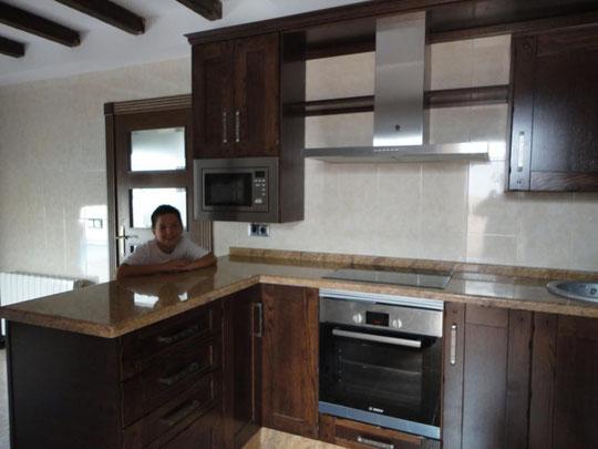 Cocina Torredelcampo roble rustica
