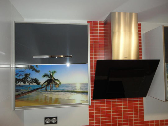 Cocina gris Torredelcampo