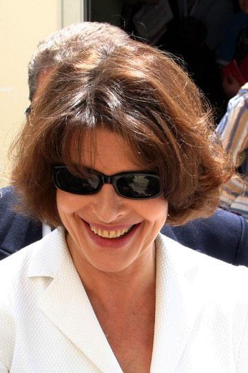 Fanny Ardant - Festival de Cannes 2004 © Anik COUBLE