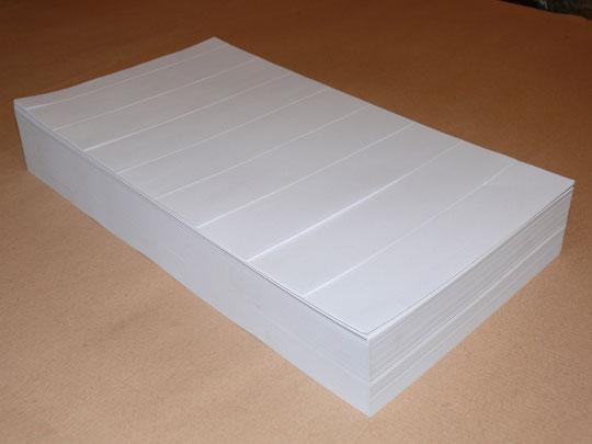 Scribor neutral / 500 Bogen / 4000 Streifen