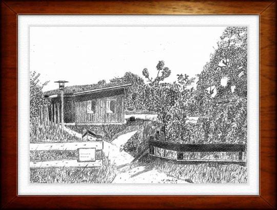 tation Höltigbaum   Bleistiftzeichnung  42 x30 cm