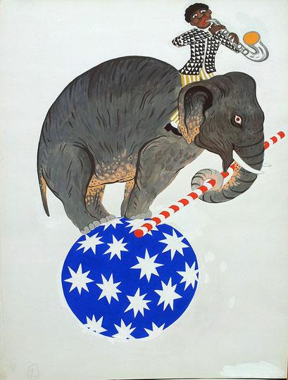 Zirkus-Elefant