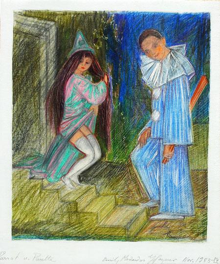 Pierrot und Pierrette