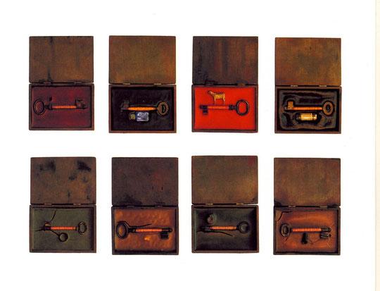 TRANSFORMATION 1-8  -  Objektkunst von Kai Wolf