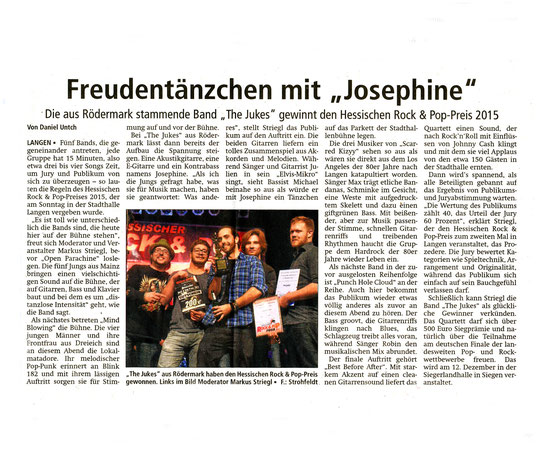 Offenbach Post, 4. November 2015