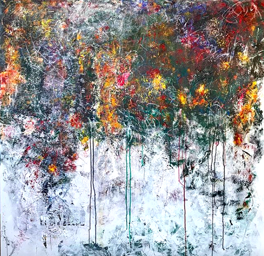 Spring 2016 150x150cm Acrylic on canvas