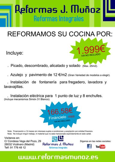 Oferta Reforma Integral Cocina