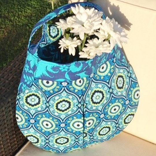 Handtasche genäht aus Amy Butler LARK