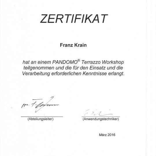 Designestriche Krain