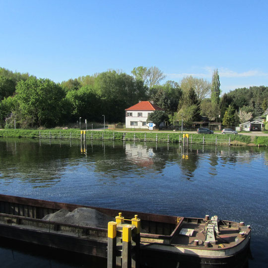 Hafen bei der Wernsdorfer Schleuse