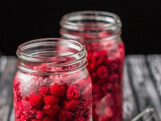 likør hjemmelaget bær