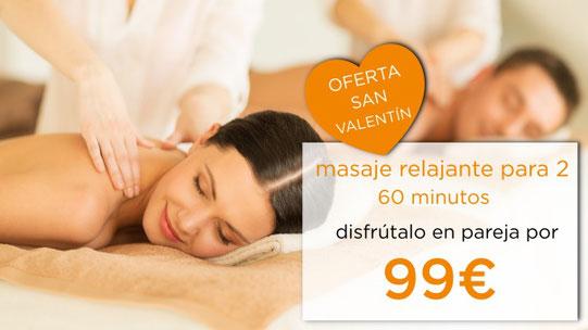 oferta san valentin dia de los enamorados masaje en pareja masaje para 2