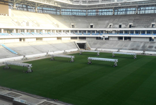 Ein Blick ins Stadion im November 2017. Quelle: Sport In