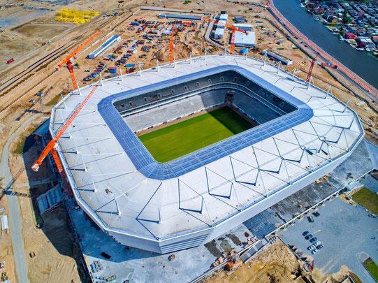 Das Stadion aus der Vogelperspektive im September 2017. Quelle: Sport In.