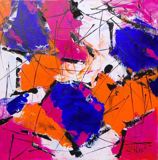 Abstrakte Malerei von Florina Maria Weidmann
