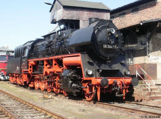 Am 21. August 2011 war 58 3047-6 der Glauchauer Interessengemeinschaft im SEM Chemnitz zu Gast