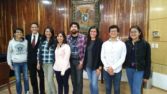 Exámen de titulación de Q.A. Mariel Rico. Facultad de Química, UNAM