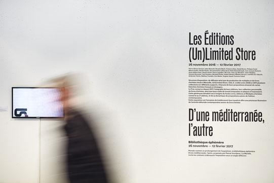 Les éditions (un)limited store, Frac paca © jeanchristophe LETT