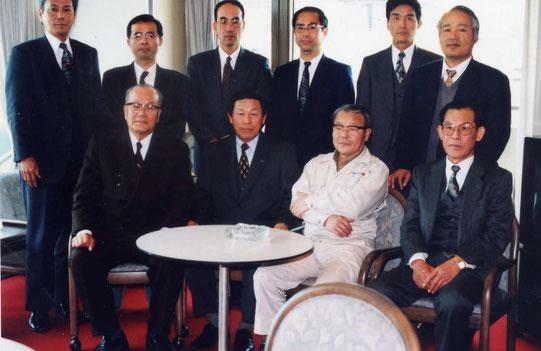 坂本喬理事が住んでいるトップワン四国の最上階で理事会
