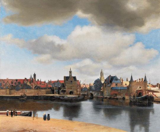 Самые известные картины Вермеера - Вид  Делфта