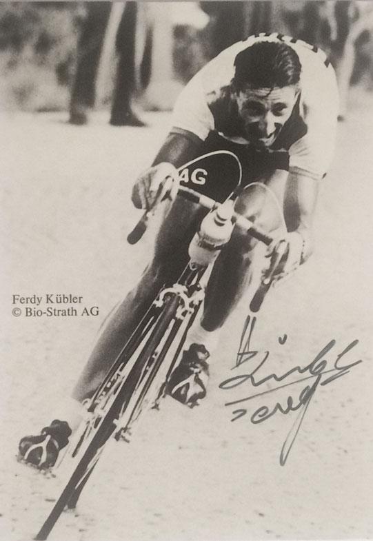 Autograph Ferdy Kubler Autogramm