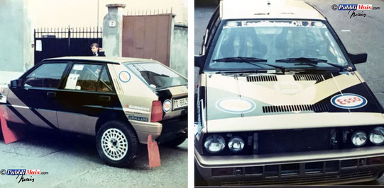 lancia delta grifone gold livery