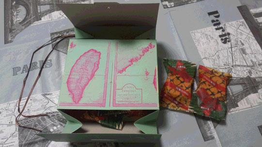 Des gâteaux à l'ananas en souvenir de Taïwan.