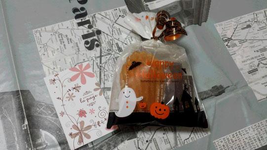 Des madeleines pour fêter Halloween!