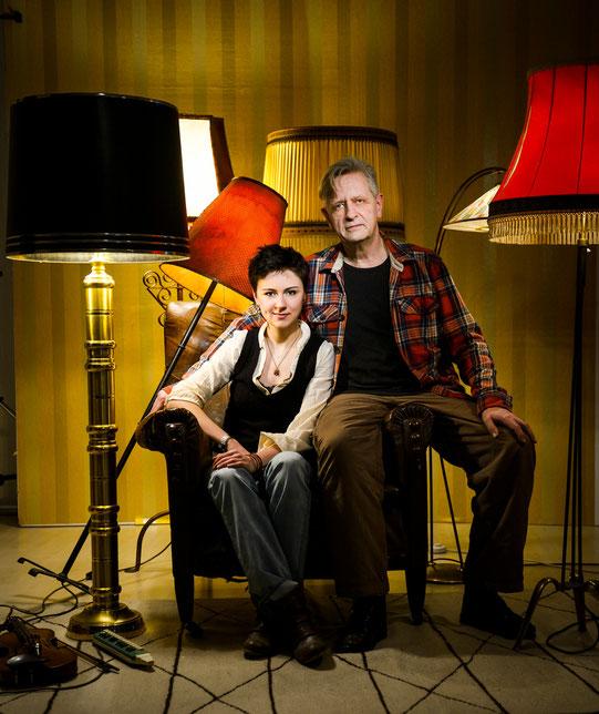 Luca und ich, Foto: Manfred Pollert (www.pollert.de)