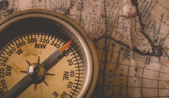 coachingspraktijk voor verandering - alleen op je eigen kompas kun je varen
